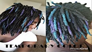 Download How To Color Locs w/o Bleach & Chemicals | Loc Shadowing Mp3 and Videos