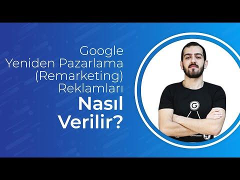 Google Yeniden Pazarlama (Remarketing) Reklamları Nasıl Verilir?