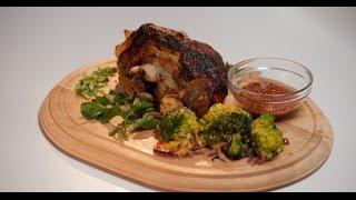 Свиная рулька с адской капустой брокколи | Мясо. От филе до фарша