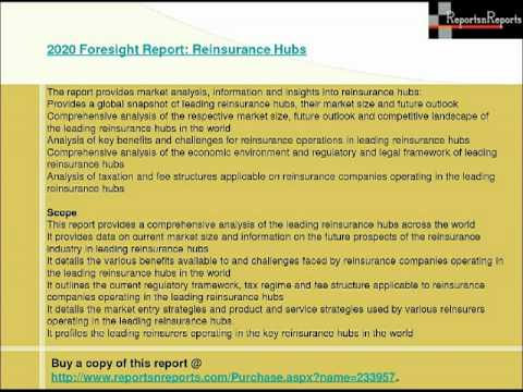 2020 Foresight Report Reinsurance Hubs