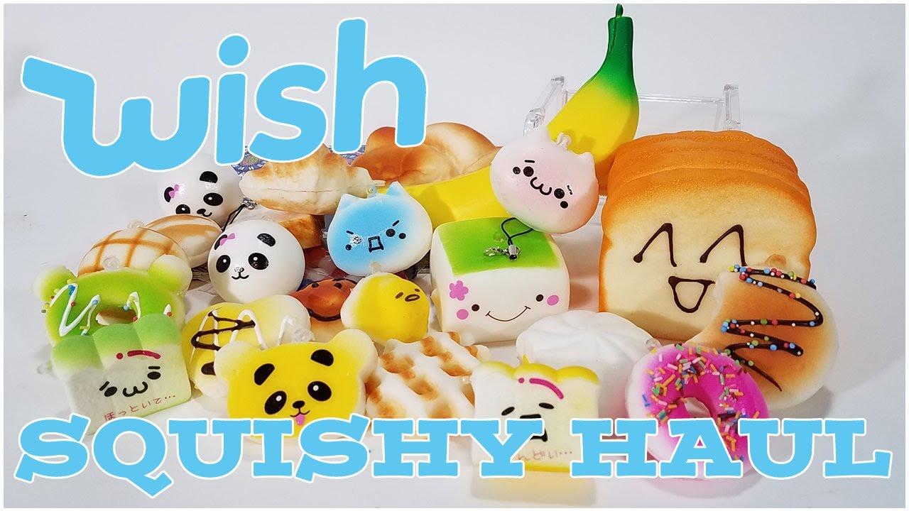 Squishy Wish : Wish App Squishy Haul and Review! - YouTube