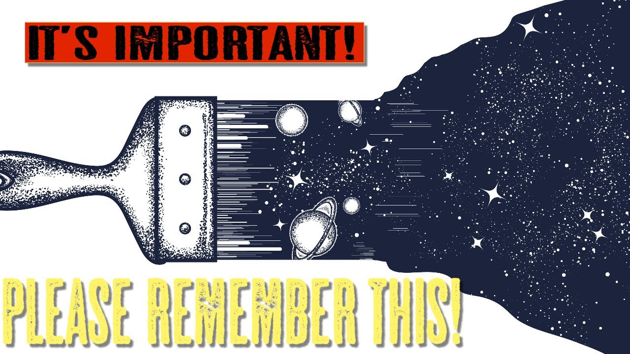 PLEASE REMEMBER THIS!