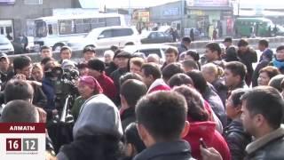 Назарбаев: Кому мешает «барахолка» в Алматы? / 1612