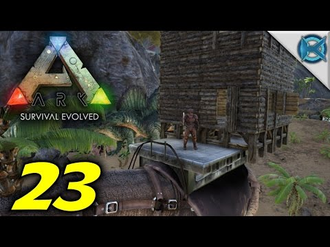 """ARK: Survival Evolved -Ep. 23- """"Paracer Platform Saddle Mobile Base"""" -Gameplay / Let's Play- (S2)"""