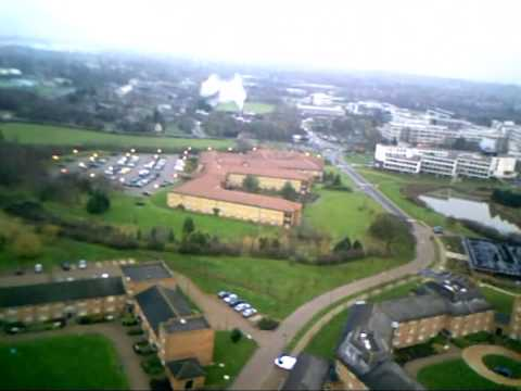University of Warwick from the Air - Lakeside and Heronbank