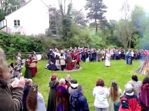 BELTANE AT CHALICE WELL 2014