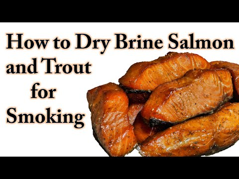 How To Dry Brine Salmon And Trout For Smoking