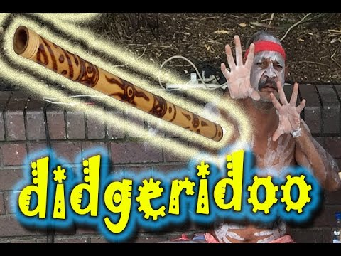 CRAZY MUSICAL INSTRUMENT!!! DIDGERIDOO AUSTRALIAN ABORIGINAL