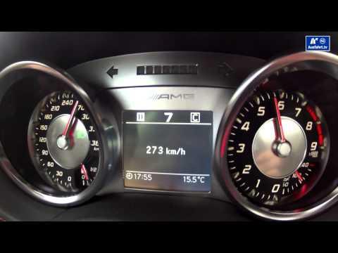 2014 Mercedes-Benz SLS AMG GT / acceleration  0-250 km/h Beschleunigung