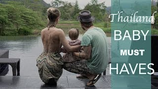 Backpacking mit Baby durch Thailand - 6 MUST HAVES!!
