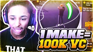 1 BASKET = 100,000 VC FOR 10 YEAR OLD WITH NEAGATIVE RECORD NBA 2K19