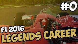 F1 LEGENDS CAREER PART 0 - MEET THE DRIVERS!