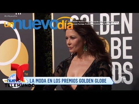 Mira los mejores y peores vestidos de los Globos de Oro | Un Nuevo Día | Telemundo