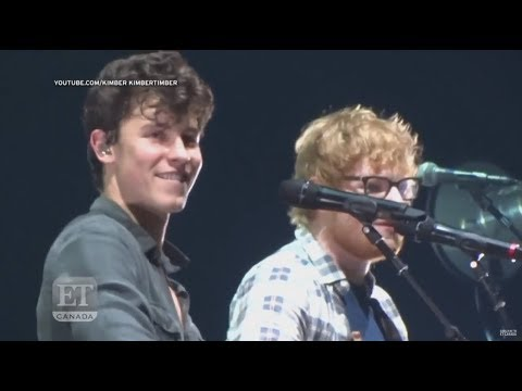 "Ed Sheeran Joins Shawn Mendes For ""Mercy"" Duet"