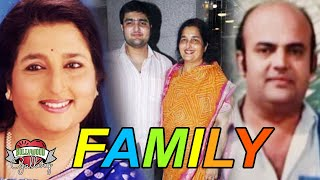 Anuradha Paudwal Family With Parents, Husband, Son and Daughter