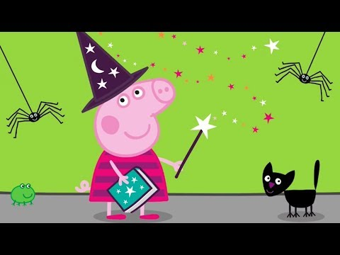 Peppa Pig English Episodes - Halloween Special- #075