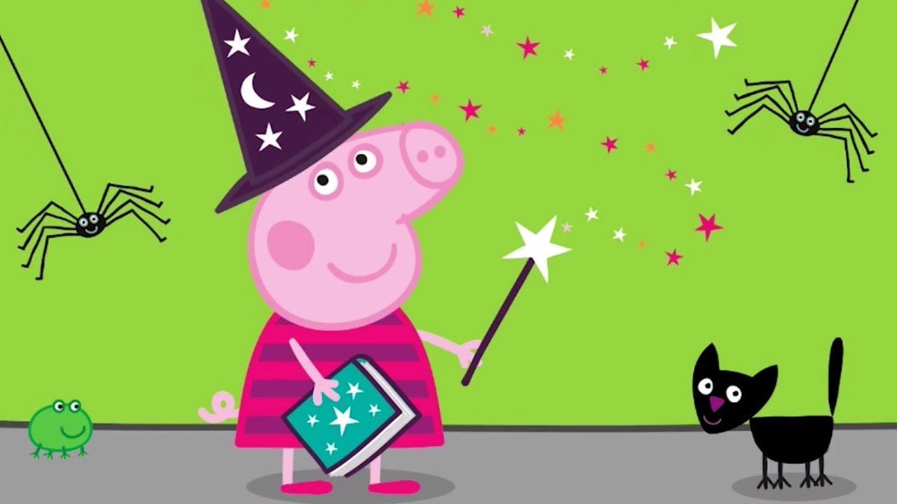 Peppa Pig Episodes - Halloween Special 🎃 - Cartoons for Children ...