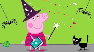 Peppa Pig Episodes - Halloween Special 🎃 - Cartoons for Children thumbnail