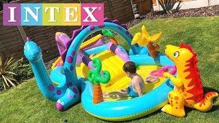 Intex Dinoland Inflatable Play Centre Pool Review