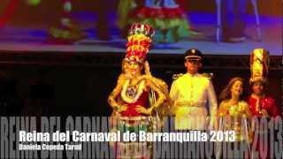 lectura del Bando 2013 - Daniela Cepeda Tarud - Carnaval de Barranquilla