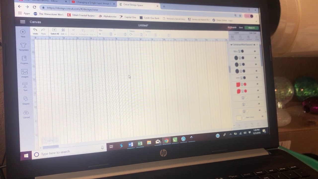 Cricut Design Space SVG not working or showing up