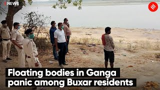 Floating bodies in Ganga panic among Buxar residents