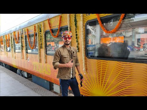 India 2nd Private Train Ahmedabad Tejas Express journey