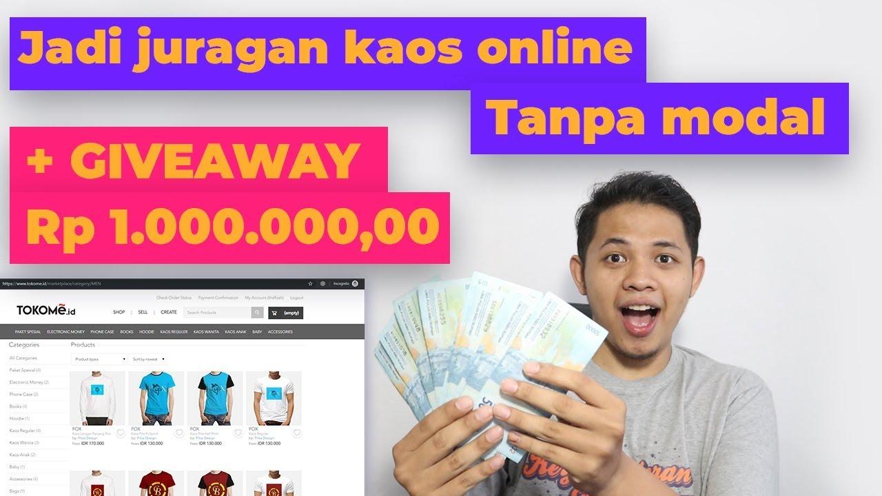 Bisnis online jual kaos tanpa modal - Ft Tokome.id | plus ...