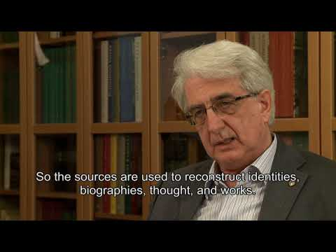 Examples of using the lexicon - Franco Montanari interview on Lexicon of Greek Grammarians (4/6)