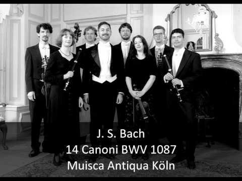 J. S. Bach - 14 Canons BWV 1087