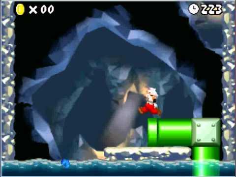 Super Mario Ds Walkthrough World 8 2 Star Coin Asf Youtube
