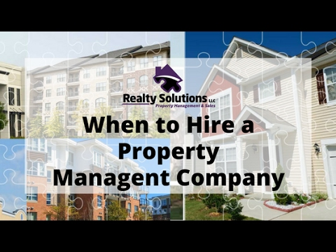 When to Hire a Property Management Company in South Jersey