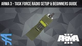 how to install Task Force Radio for ArmA 3
