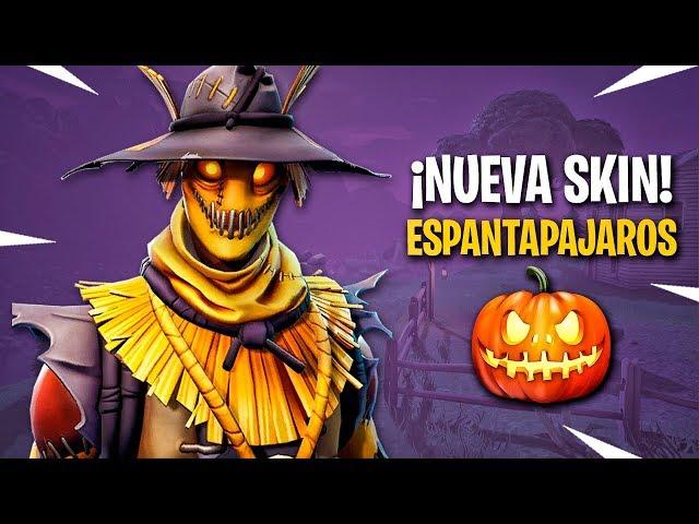 LA NUEVA SKIN: ESPANTAPAJAROS !! - Fortnite: Battle Royale