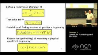 ME 597 Lecture 1: Review of Quantum Tunneling/Introduction to STM