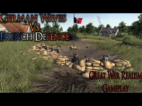 Early Access French Wave Defence | Great War Realism Gameplay | AS2