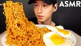 ASMR SPICY INDOMIE GORENG NOODLES MUKBANG (No Talking) COOKING & EATING SOUNDS | Zach Choi ASMR