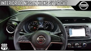 Interior Do Nissan Kicks Sv 1.6 Cvt