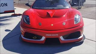 Ferrari 430 GTS Dream Racing at Las Vegas speedway