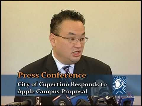 City of Cupertino Apple Campus Press Conference