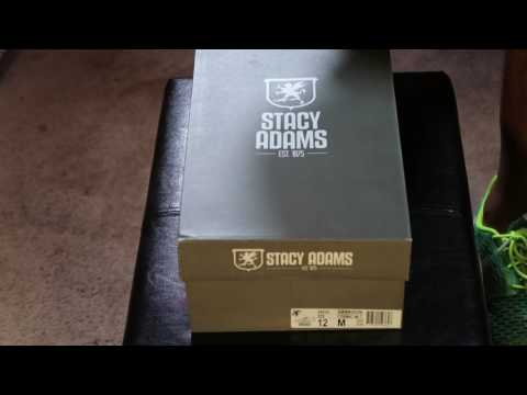 STACY ADAMS DRESS SHOE UNBOXING