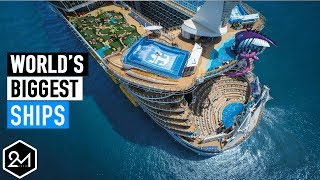 Top 10 Cruises - Top 10 Biggest Cruise Ships In The World 2017