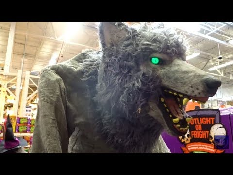 new 2017 home depot halloween decorations animatronics props
