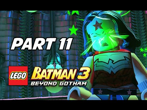 Lego Batman 3 Beyond Gotham Walkthrough Part 11 Boss