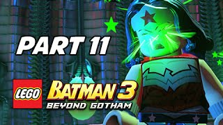 Lego Batman 3 Beyond Gotham Walkthrough Part 11 - Boss Brainiac (Lets Play Commentary)