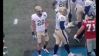 Pitt Football Player # 28 Crotch Grab