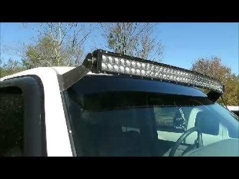 Led Light Bar Roof Mount Brackets Build Easy And No