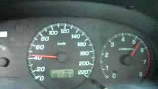 Subaru impreza non turbo 0-100.
