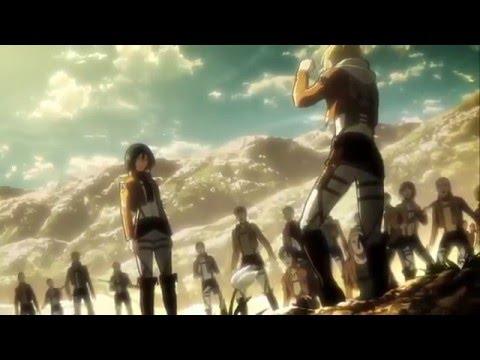 ▸ Mikasa Vs Annie Training (extra scene) Aot    Snk ENGLISH SUB