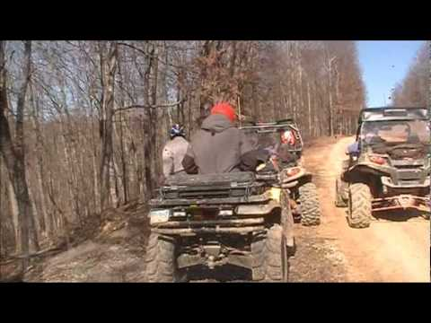 Redneck Ridge Riders Ride East Lynn WV 01-31-2012